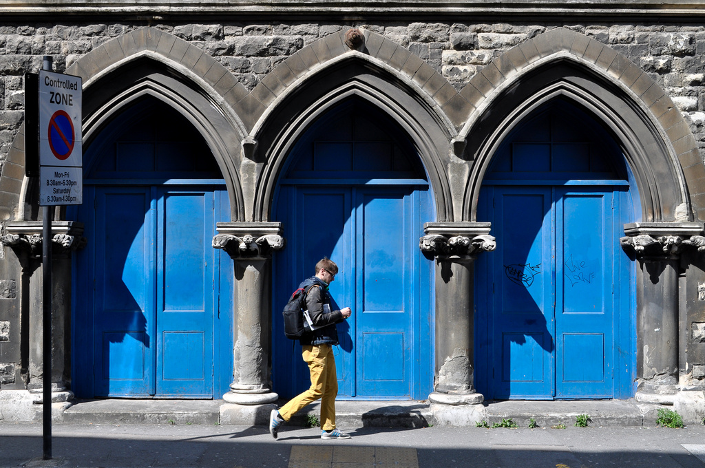 Blue Arches by andycoleborn