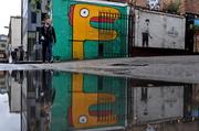 8th May 2014 - Noir and Banksy