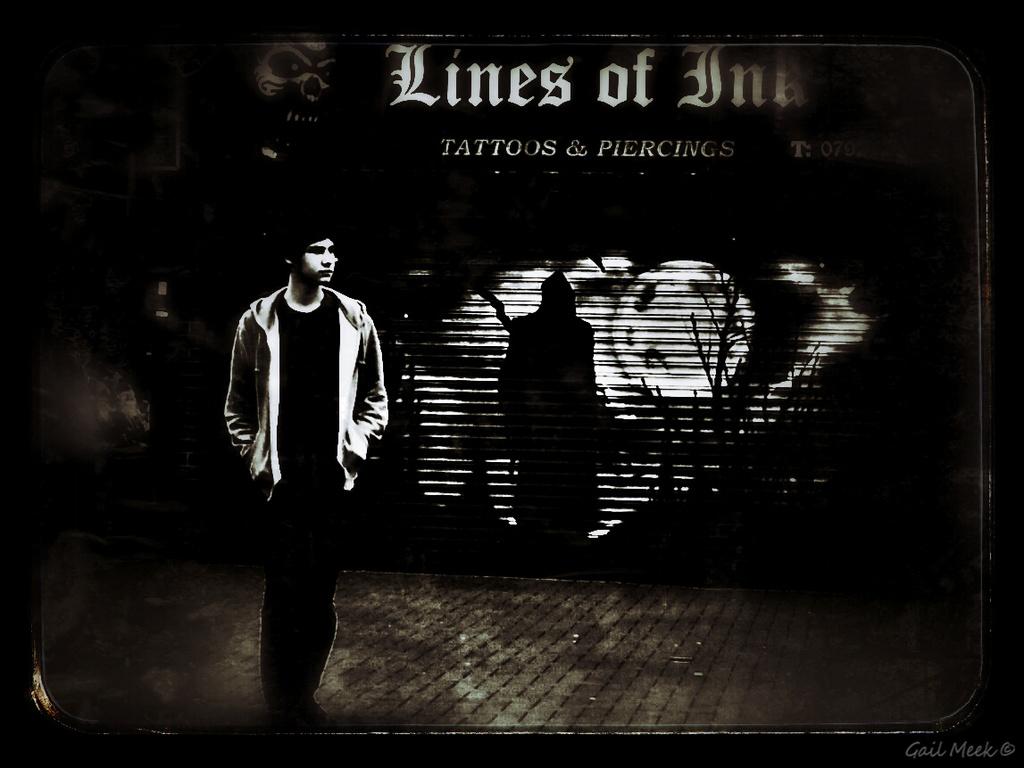 Lines of Ink by gailmmeek