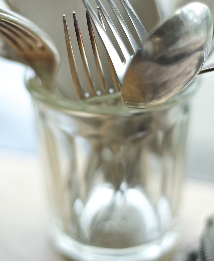 Cafe cutlery by brigette