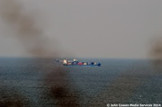 16th Jun 2014 - Passing ships in the day