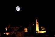 15th May 2014 - Moon Over Vaison La Romaine