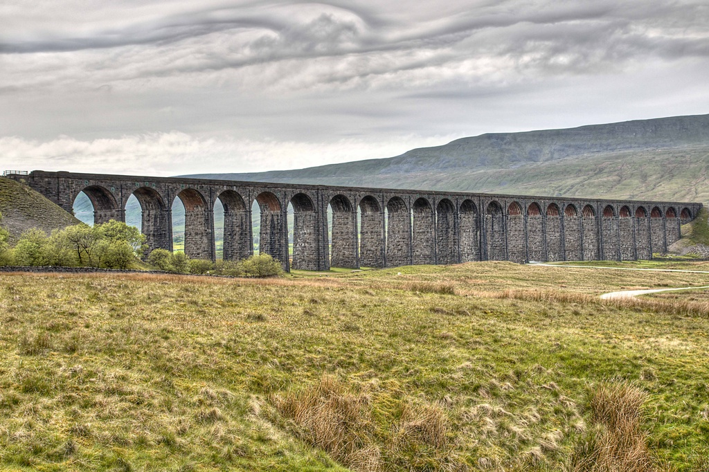 The Ribblehead Viaduct. by gamelee