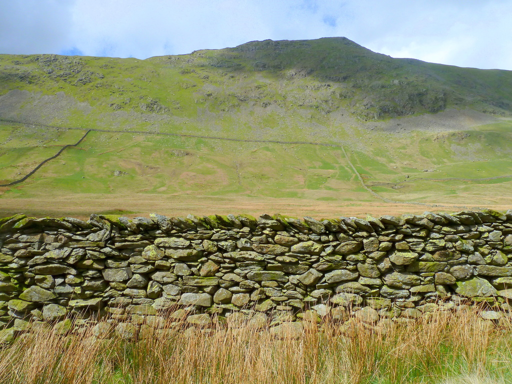 Dry stone wall by boxplayer