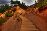 22nd May 2014 - The Ocher Staircase