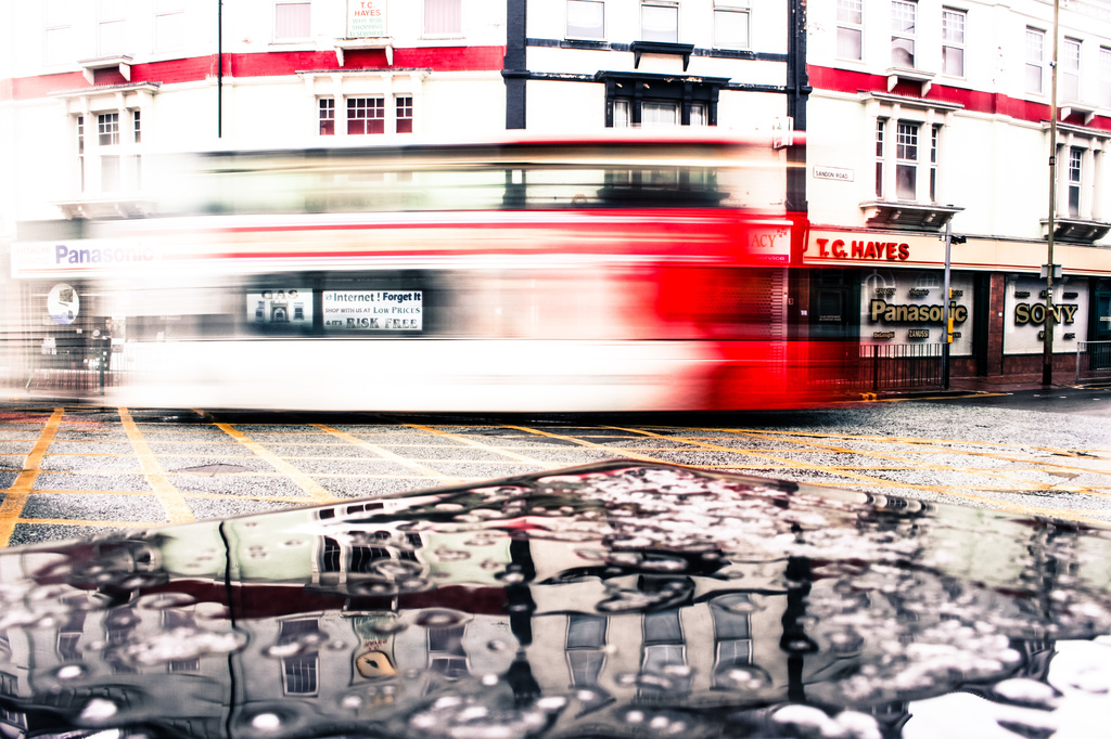 Missed the bus by rachelwithey