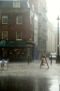 28th May 2014 - Rain at Spitalfields-just filling space