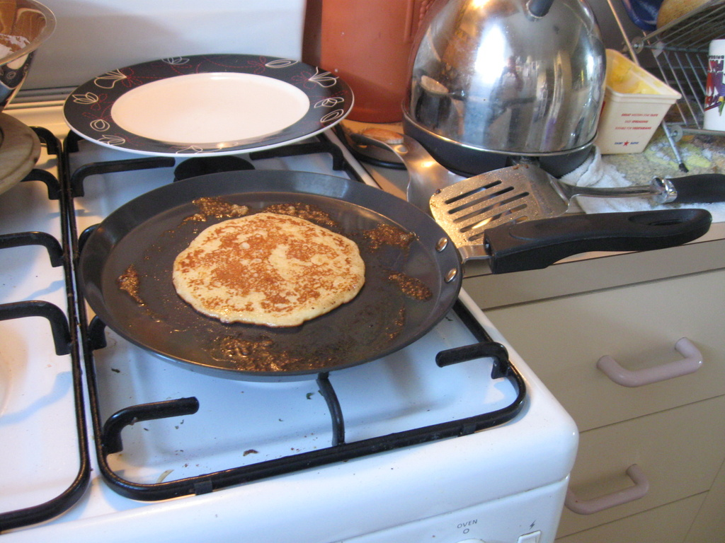 My New Pancake Pan by mozette