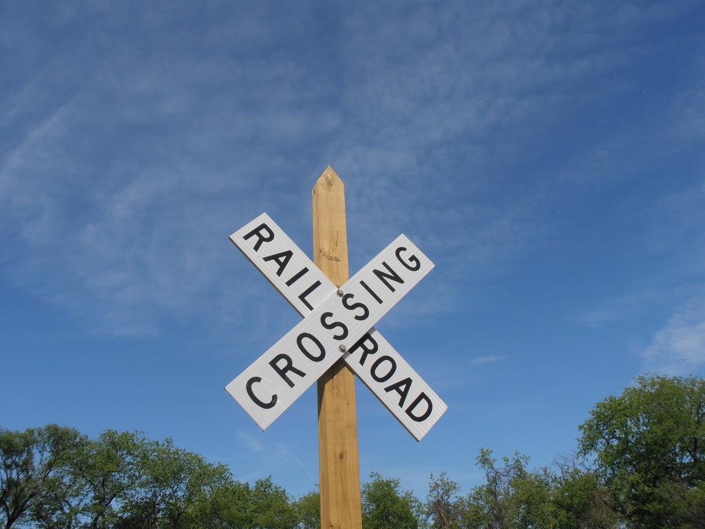 Railroad Crossing by julie