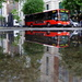 Bus and puddle by boxplayer