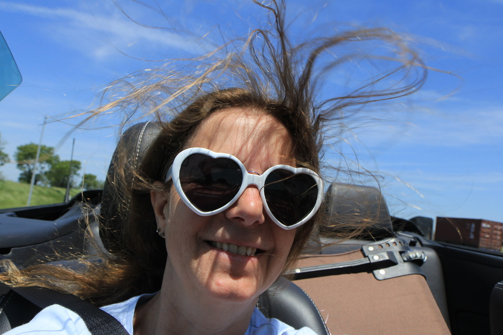2014 05 31 - Loving the wind in my hair by pixiemac
