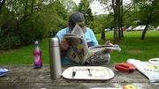 2nd Jun 2014 - Lake vyrnwy (Llyn Efyrnwy ) Picnic time !!