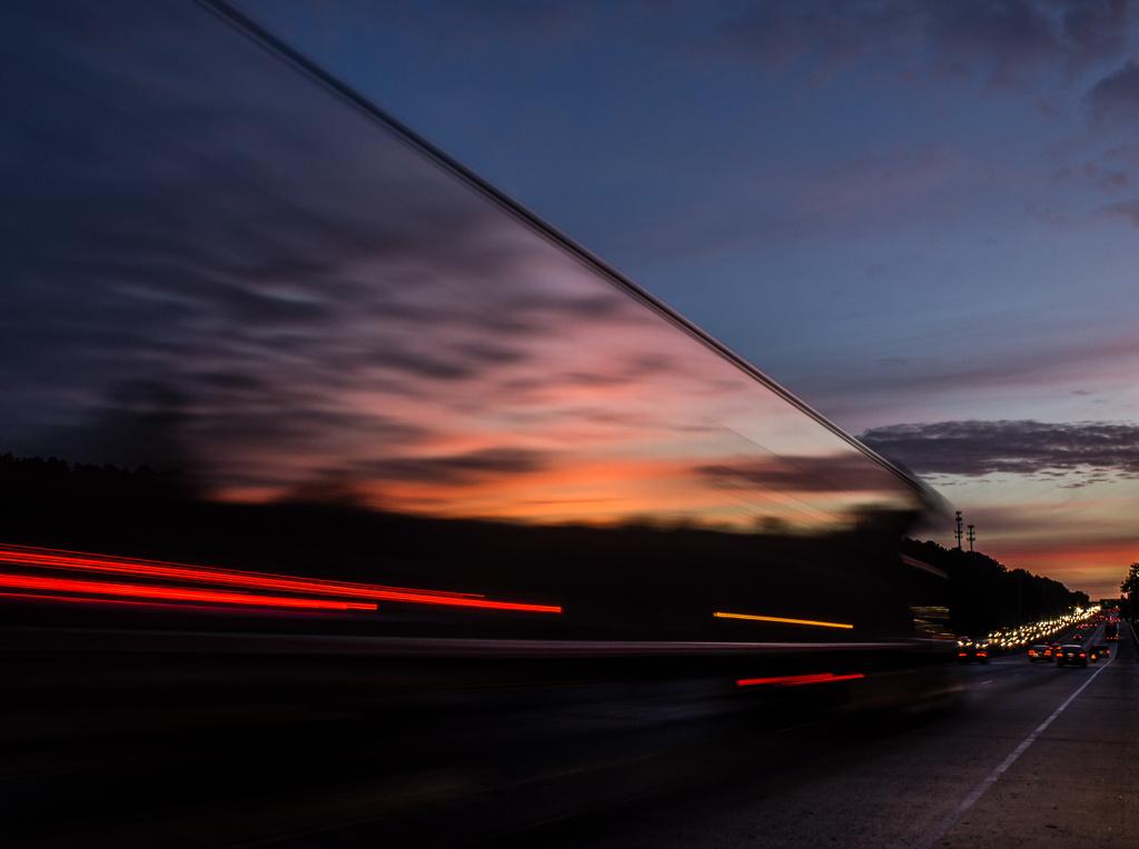Big Truck Sunrise by darylo