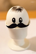 4th Jun 2014 - Egg with mustache