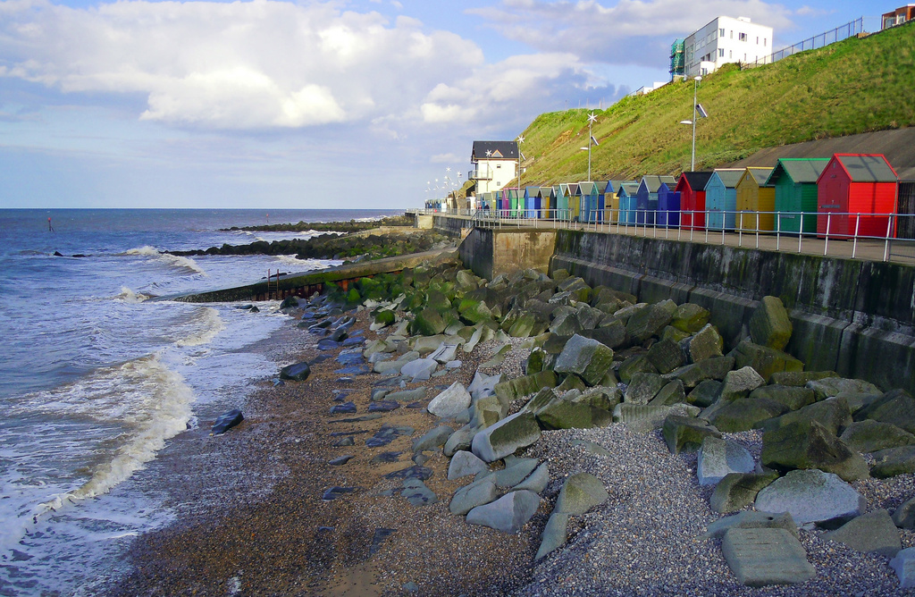 The seafront at Sheringham by pistonbroke