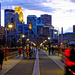 Nighttime on the Stone Arch Bridge by tosee