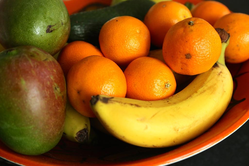 Full Fruit Bowl by padlock
