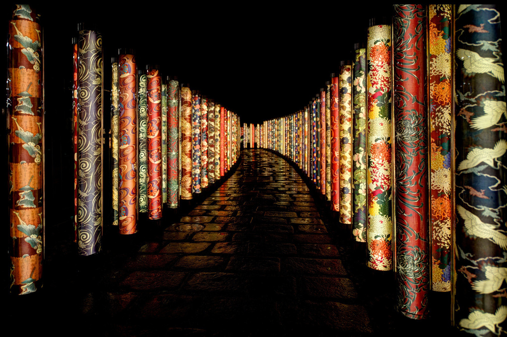 Kimono Pathway in Kyoto by taffy