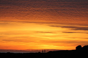 10th Jun 2014 - Cliff walkers at sunset