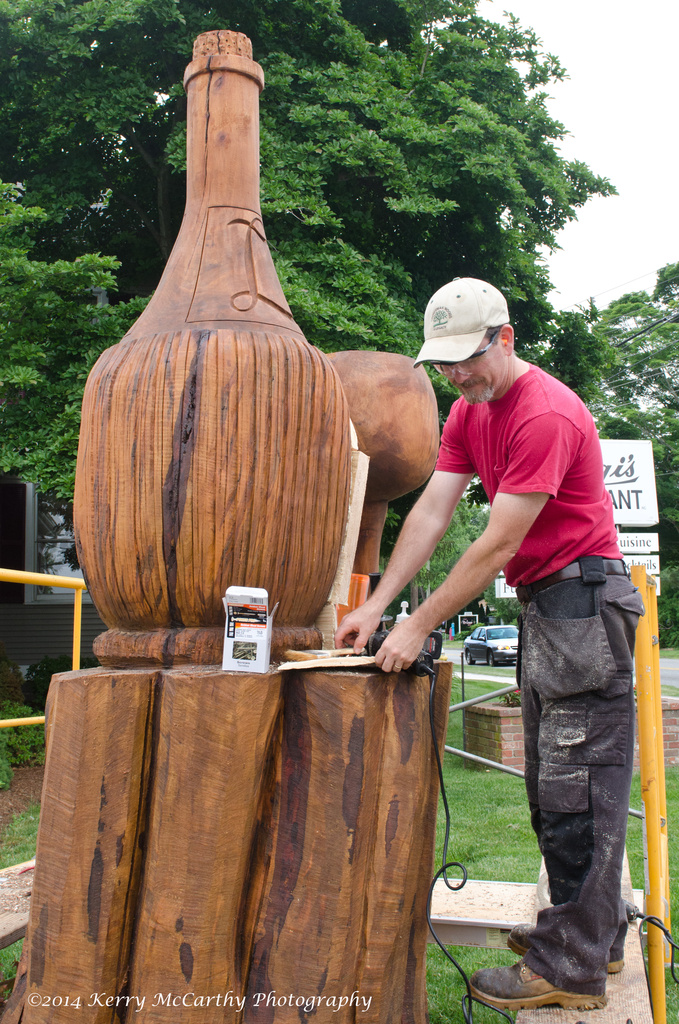 Chain saw sculpture by mccarth1