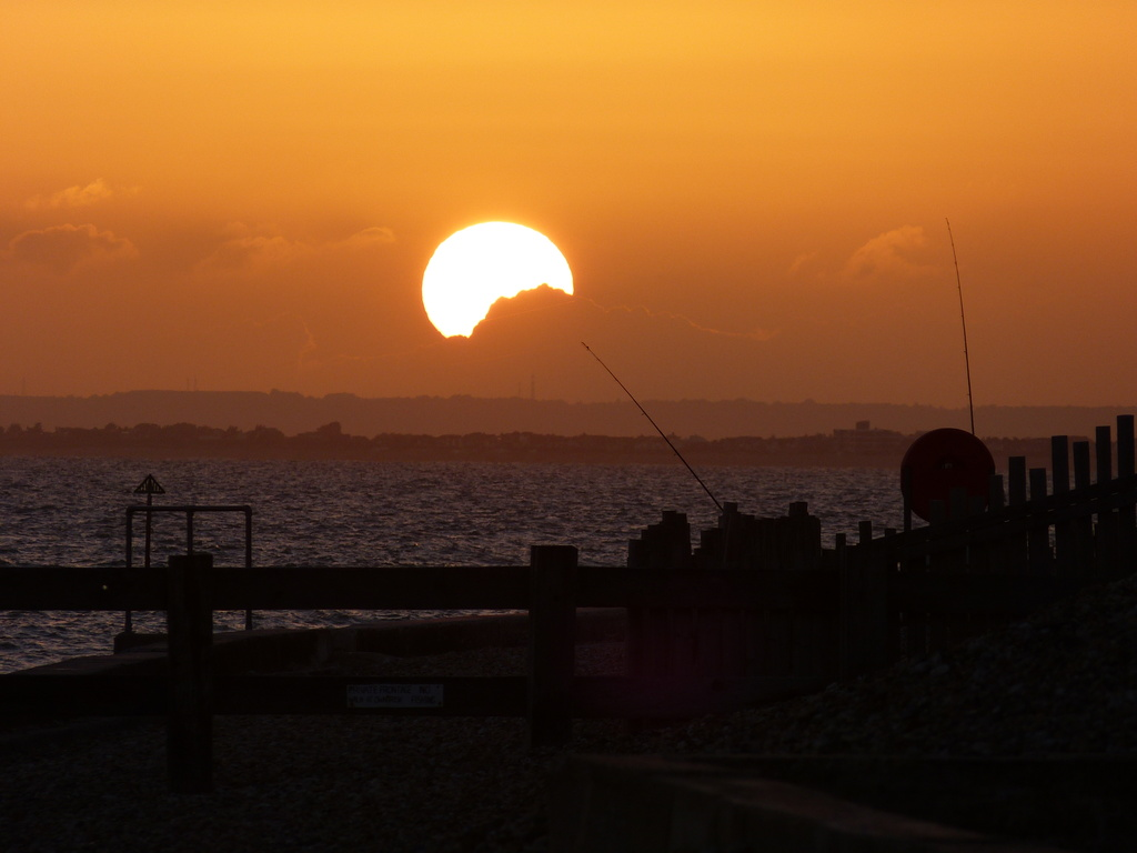 Sunset from Selsey by snoopybooboo