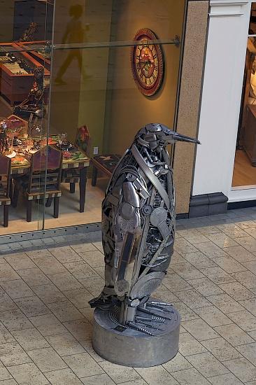 Reflection Of A Shoppper. by seattle
