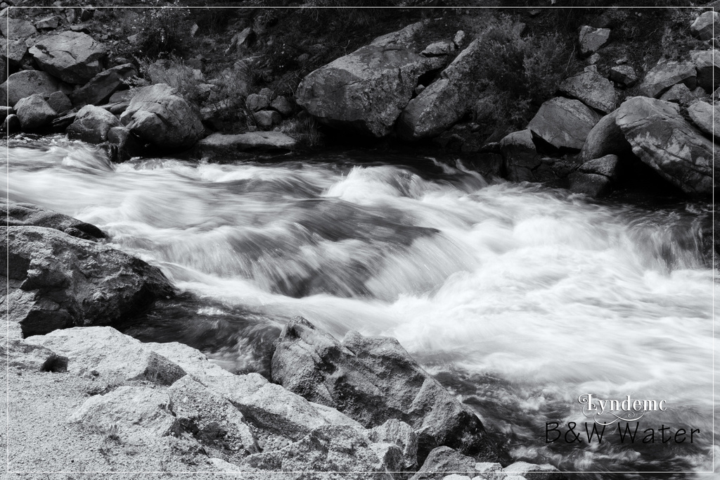 Rushing Water by lyndemc
