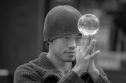 15th Jun 2014 - Young man and crystal ball