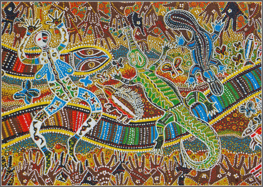 Rainbow Serpent by pcoulson
