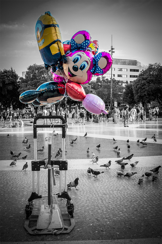 Globos / Balloons by jborrases