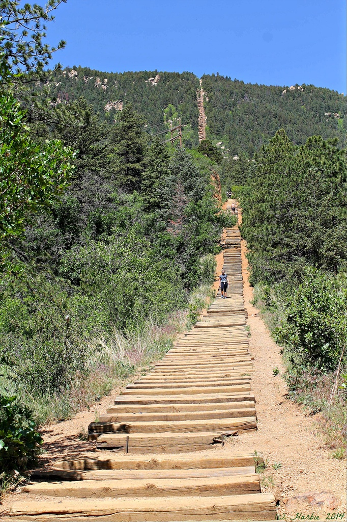 Manitou Springs Incline by harbie