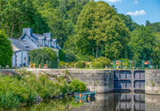 20th Jun 2014 - Coatigrac'h - Lock and Lock-keeper's Cottage