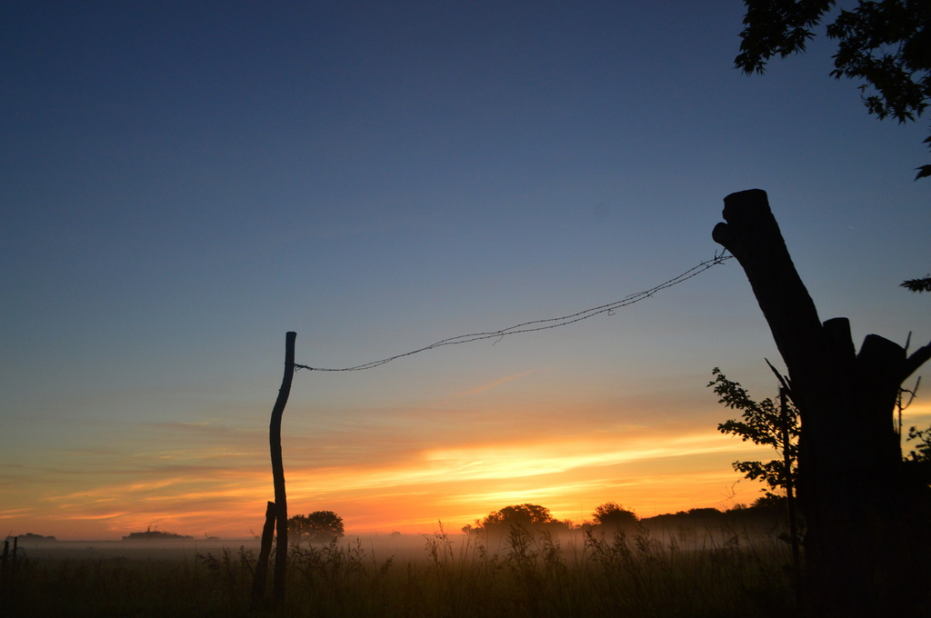 Welcoming a Kansas Sunrise by kareenking
