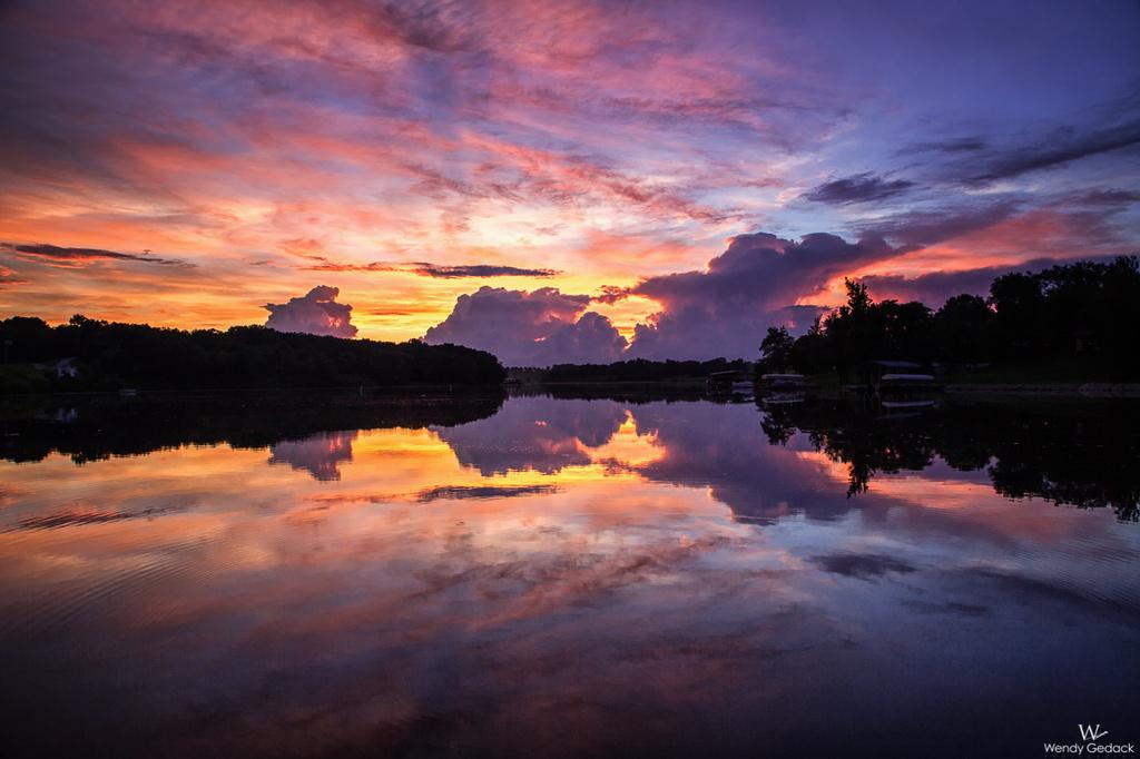 Sunset at Lake Thunderhead by exposure4u