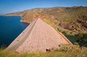 29th Jun 2014 - Lake Argyle Dam Wall