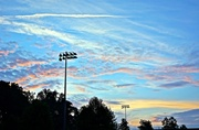 30th Jun 2014 - Sunrise over the ball fields