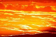 28th Jun 2014 - Fiery sunset