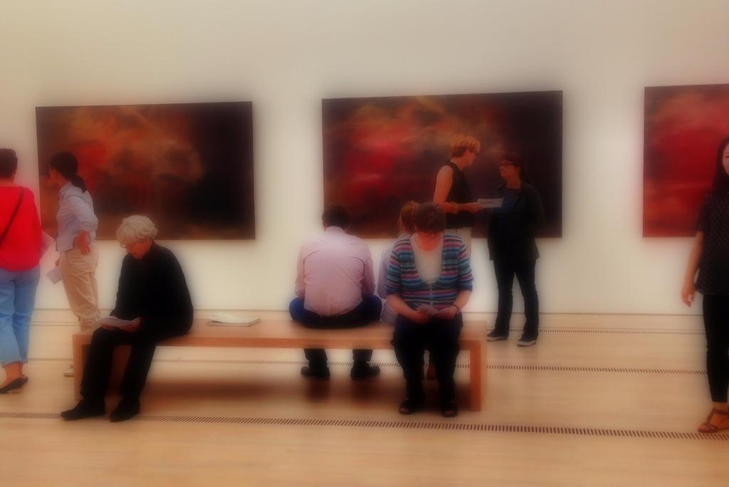 Richterisation at the Richter exhibition  by cocobella
