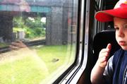 5th Jul 2014 - Train goes this way...