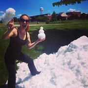 July 4th snow ball fight  on 365 Project