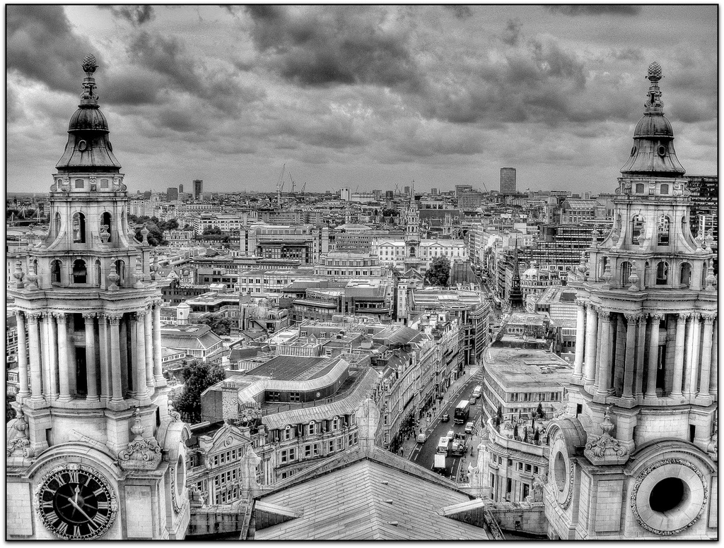 View from the Dome bw-fn-4 Architecture -The Big Picture by judithdeacon