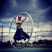 Cyr Wheel time  on 365 Project