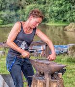 12th Jul 2014 - Lady Blacksmith...