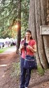 12th Jul 2014 - Monica with the Traveling Yashika