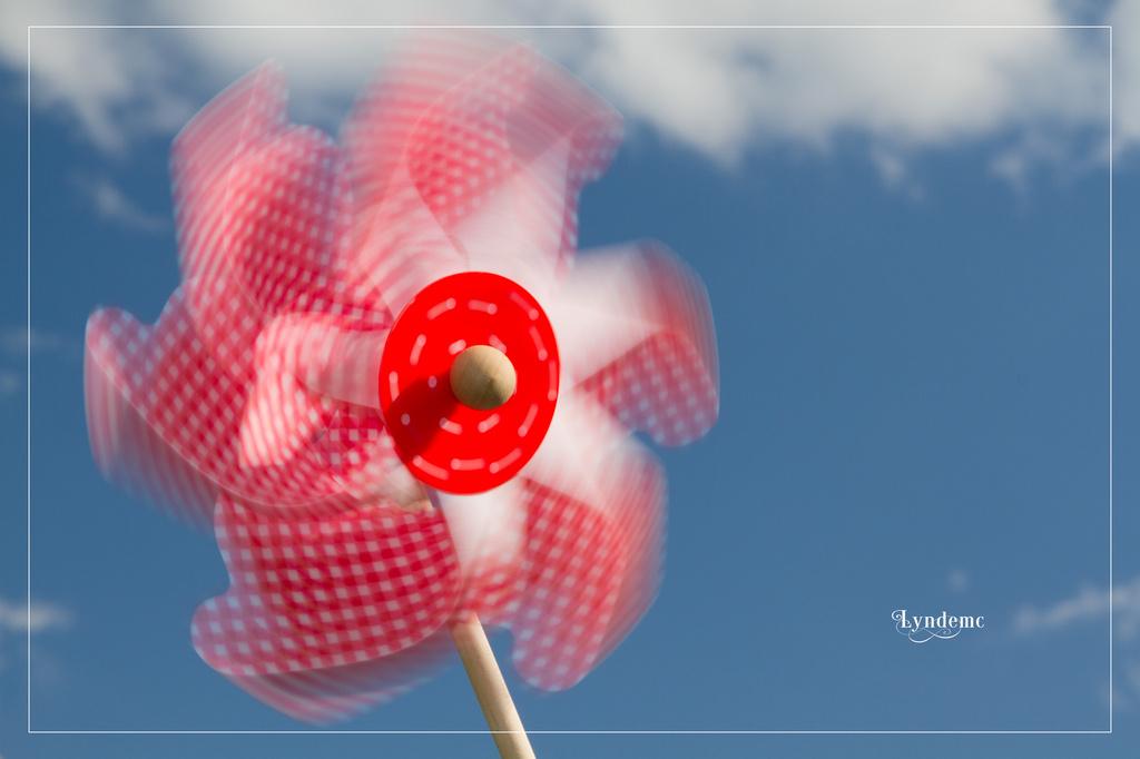 Spinnin' in the Summer Breeze by lyndemc