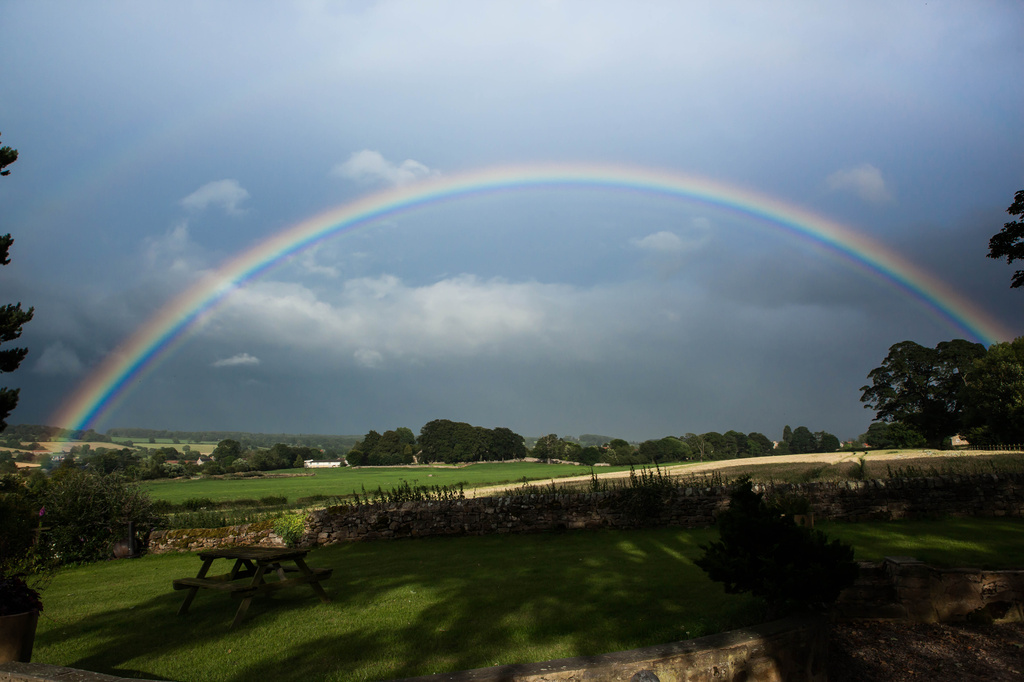 14th July 2014    - Somewhere over the ...... by pamknowler