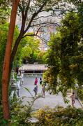 17th Jul 2014 - To the / hacia el Museu Nacional d'Art de Catalunya