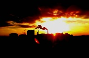 13th Oct 2010 - Smokestack Sunset