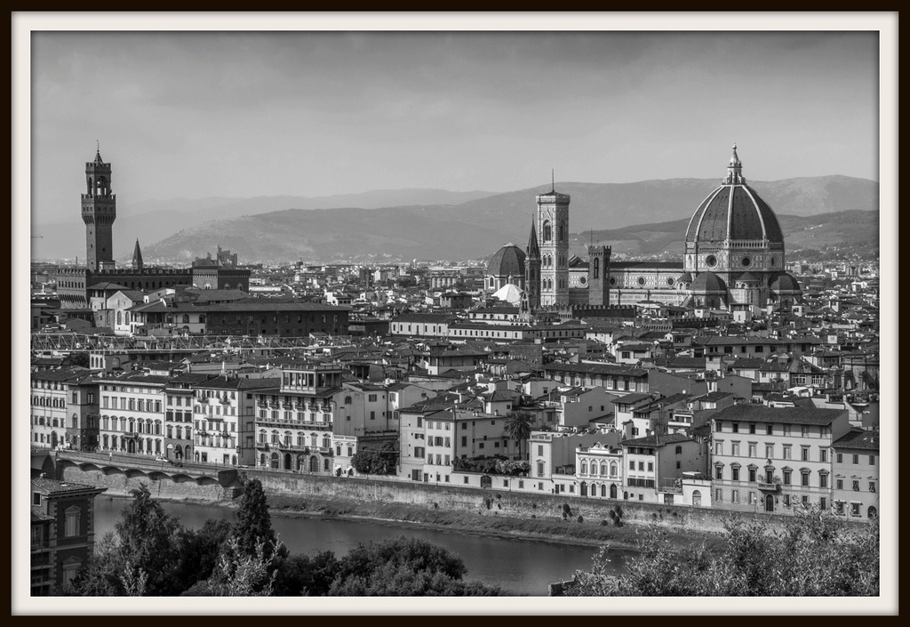 Florence in B&W by gosia