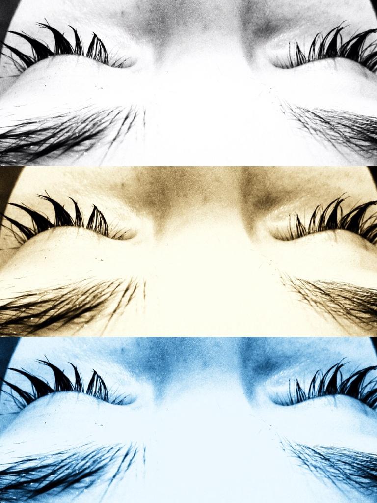 Wet lashes by cocobella